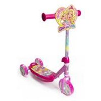 Barbie Dreamtopia Childrens My First Three Wheel Tri Scooter with LED Wheels