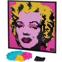 LEGO Art Andy Warhols Marilyn Monroe.