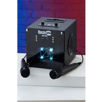 'Rockjam Singcube Rechargeable Bluetooth Karaoke Machine With Two ...