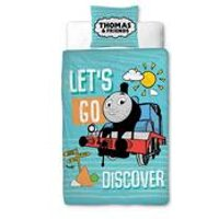Thomas Discover Junior Panel Duvet Set.