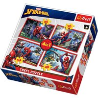 4 in 1 Spiderman Jigsaw Puzzle