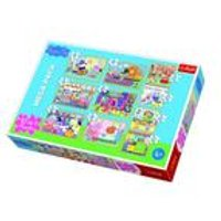 10 in 1 Peppa Pig Jigsaw Puzzle