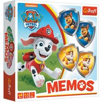 Paw Patrol Dominos and Memos Twin Pack.