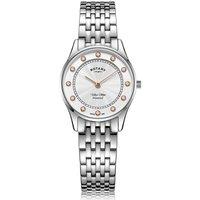 Rotary Ultra Slim Stainless Stel Quartz Watch