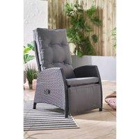 Rattan Recliner Chair