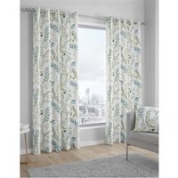 Fernworthy Lined Eyelet Curtains