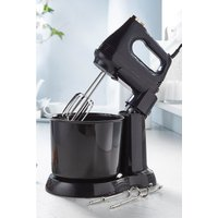 2-In-1 Hand/Stand Mixer - Black and Brass