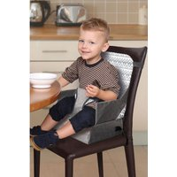 Feeding and Grab N Go Booster Seat with Handy Storage