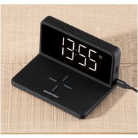 Daewoo Alarm Clock with Wireless Charger.