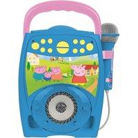 Peppa Pig Sing-Along Karaoke Boombox