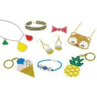 Be Teens Woven Jewellery Set