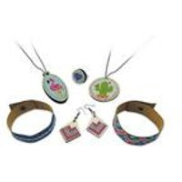 Be Teens Embroidered Jewellery Set.