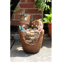 Elvedon Plant Pot Fountain