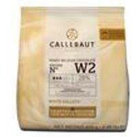 Callebaut White Chocolate.