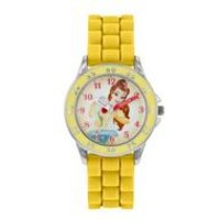 Disney Princess Belle Silicone Strap Watch