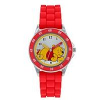 Disney Winnie the Pooh Red Silicone Strap Watch