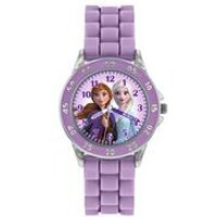 Disney Frozen Anna Lilac Silicone Strap Watch