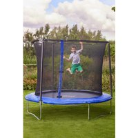 Sportspower 8ft Bounce Pro Trampoline with Enclosure.