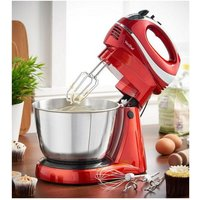VonShef Red Hand and Stand Mixer