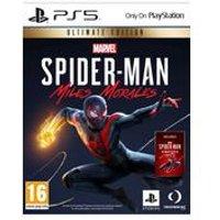 PS5: PRE-ORDER Marvels Spiderman Miles Morales: Ultimate Edition