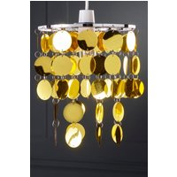 Disc Chandelier Easy Fit Light Shade
