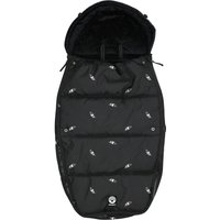 Dooky Footmuff Silver Feather Large