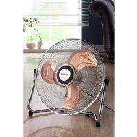 Beldray 18 Inch Silver/Rose Gold Floor Fan