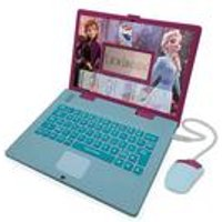 Lexibook Disney Frozen II Bilingual Educational Laptop with 124 Activites
