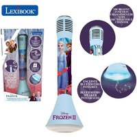 Lexibook Disney Frozen II Wireless Karaoke Microphone with Bluetooth