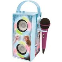 Lexibook Disney Frozen II Portable Bluetooth Speaker with Lights and Microphone