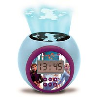 Lexibook Disney Frozen II Childrens Projector Clock with Time