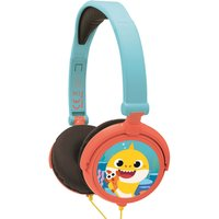 Lexibook Baby Shark Foldable Stereo Headphones with Volume Limiter.
