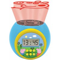 Lexibook Peppa Pig Childrens Projector Clock with Timer