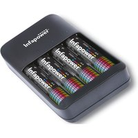 Infapower 4 Channel USB Battery Charger.