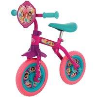 Disney Princess 2-in-1 10 Inch Training Bike