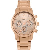 Lipsy Rose Gold Bracelet Watch with Rose Gold Mock Multi Dial.
