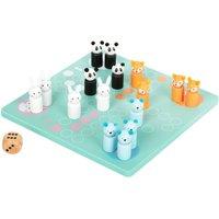 LEGLER Small Foot Childrens Ludo Pastel Colours Board Game.