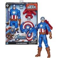 Marvel Avengers Captain America Titan Hero Blast Gear with Launcher
