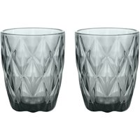 GemStone Set of 2 Mixer Glasses.