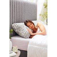 Snow Leopard Faux Fur Bolster Pillow