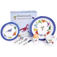 Dinosaur 7 Piece Melamine Dining Set by Martin Gulliver.