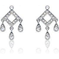 Espree Elite Fashion Geometric Crystal Earrings
