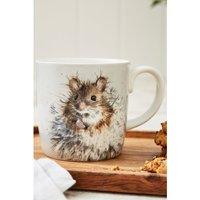 Royal Worcester Wrendale Dandelion Mouse Design Large Mug.
