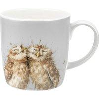 Royal Worcester Wrendale The Twits Owl Design Large Mug.