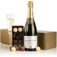 Champagne and Chocolates.