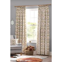 The Chateau Potagerie Lined Pencil Pleat Curtains