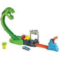 Hot Wheels City Toxic Snake Strike Play Set.