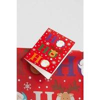 4 Santa and Rudolf Tags