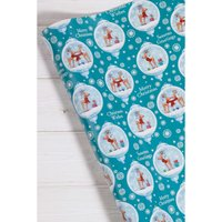 10m Reindeer Bauble Wrapping Paper