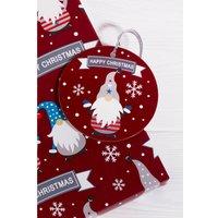 10 Christmas Gonks Gift Tags.